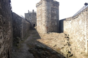 No flogging today at Blackness Castle