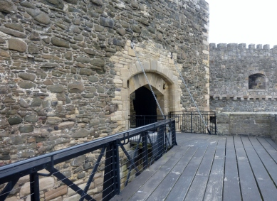Entrance to the castle
