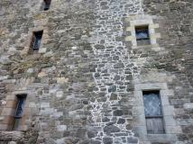 Which window did Jamie go through?