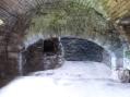 Kitchen fireplace at Aberdour Castle