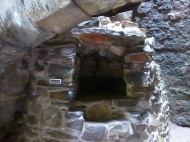 bread oven at Aberdour Castle