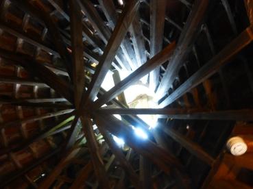 Inside Kiln