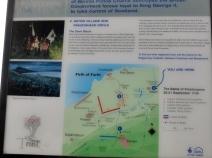 Battle of Prestonpans sign at Seton Church