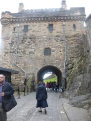 Gatehouse Edinburgh Castle