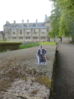 Jamie at Falkland Palace